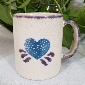 Sponged Vintage Coffee Mug